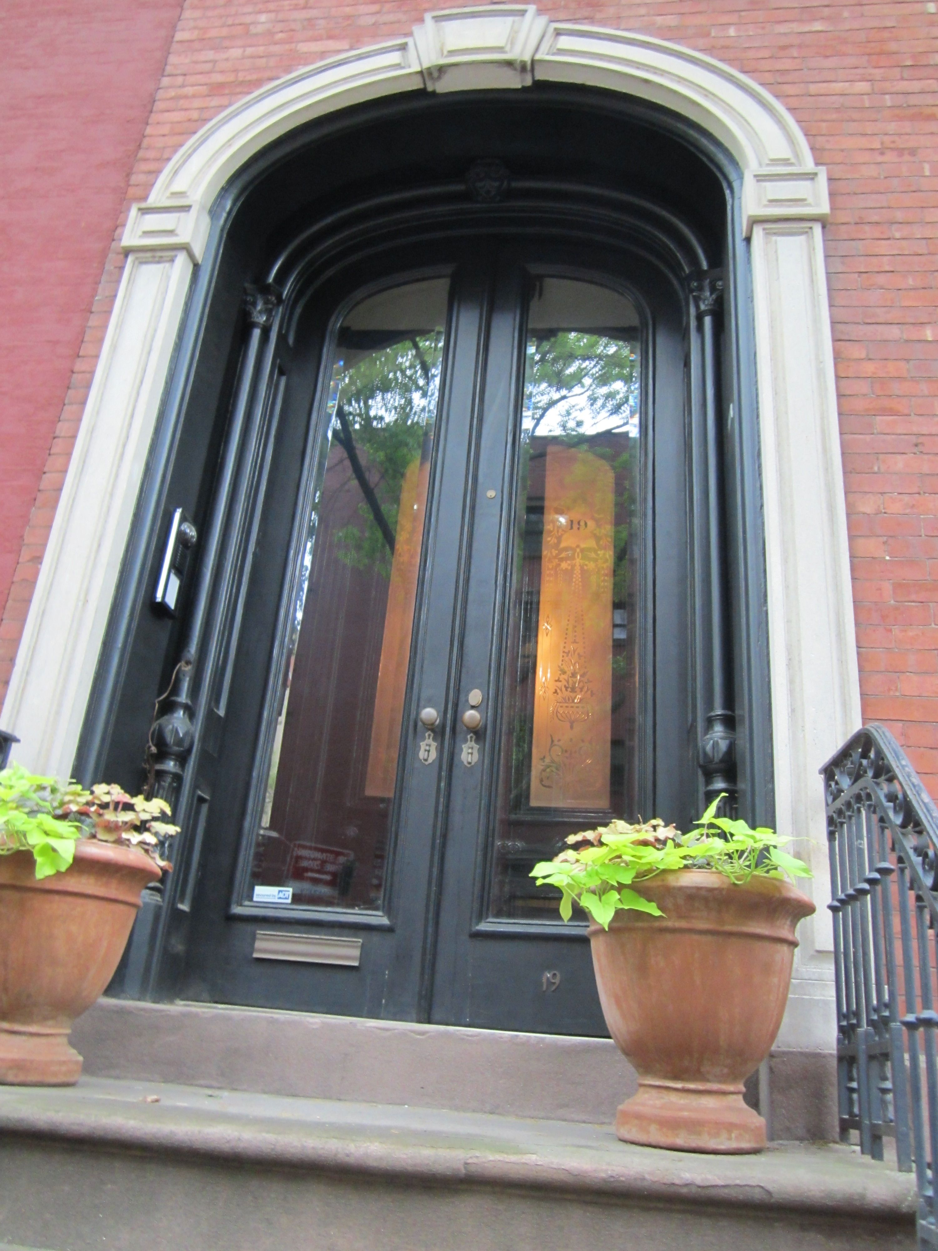 Front Door Of House Used In The Movie Moonstruck Brooklyn Heights