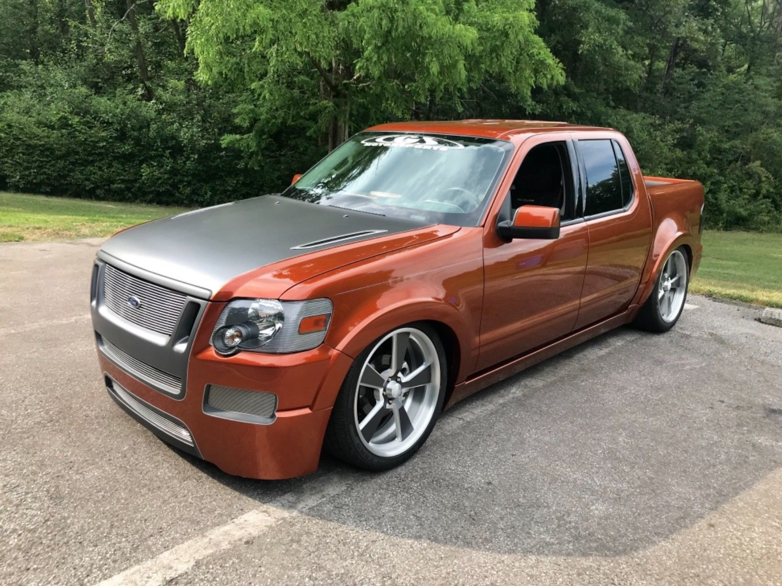2007 ford explorer sport trac only 1500 miles concept sema show sport truck system bagged air