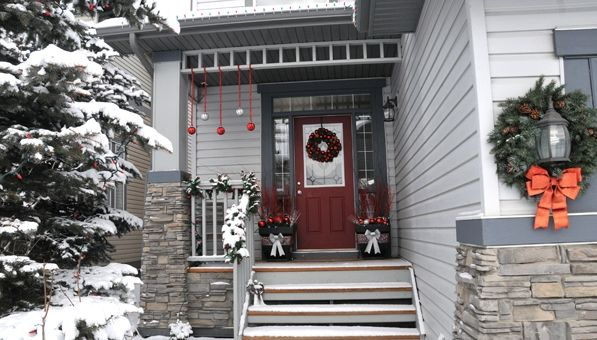 Como decorar el porche en Navidad Decoración navideña, Guia de