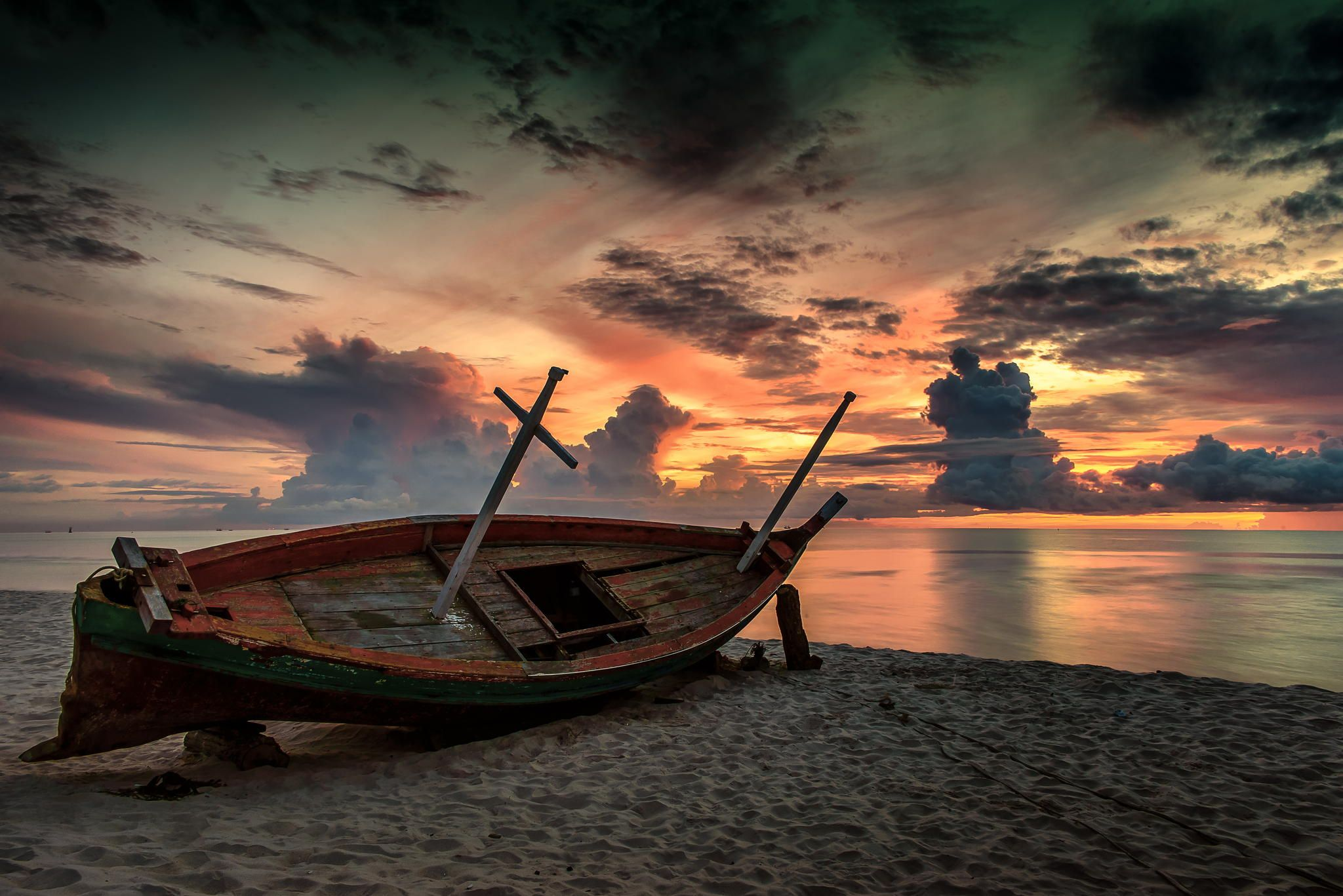 Photograph Old Fishing Boat On The Beach By Paitoon Sangsakorn On 500px Boat Fishing Boats Small Boats