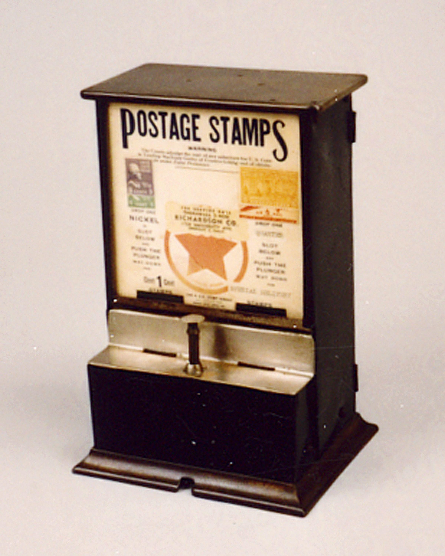 Us Vintage Postage Stamp Machine Classic Vending
