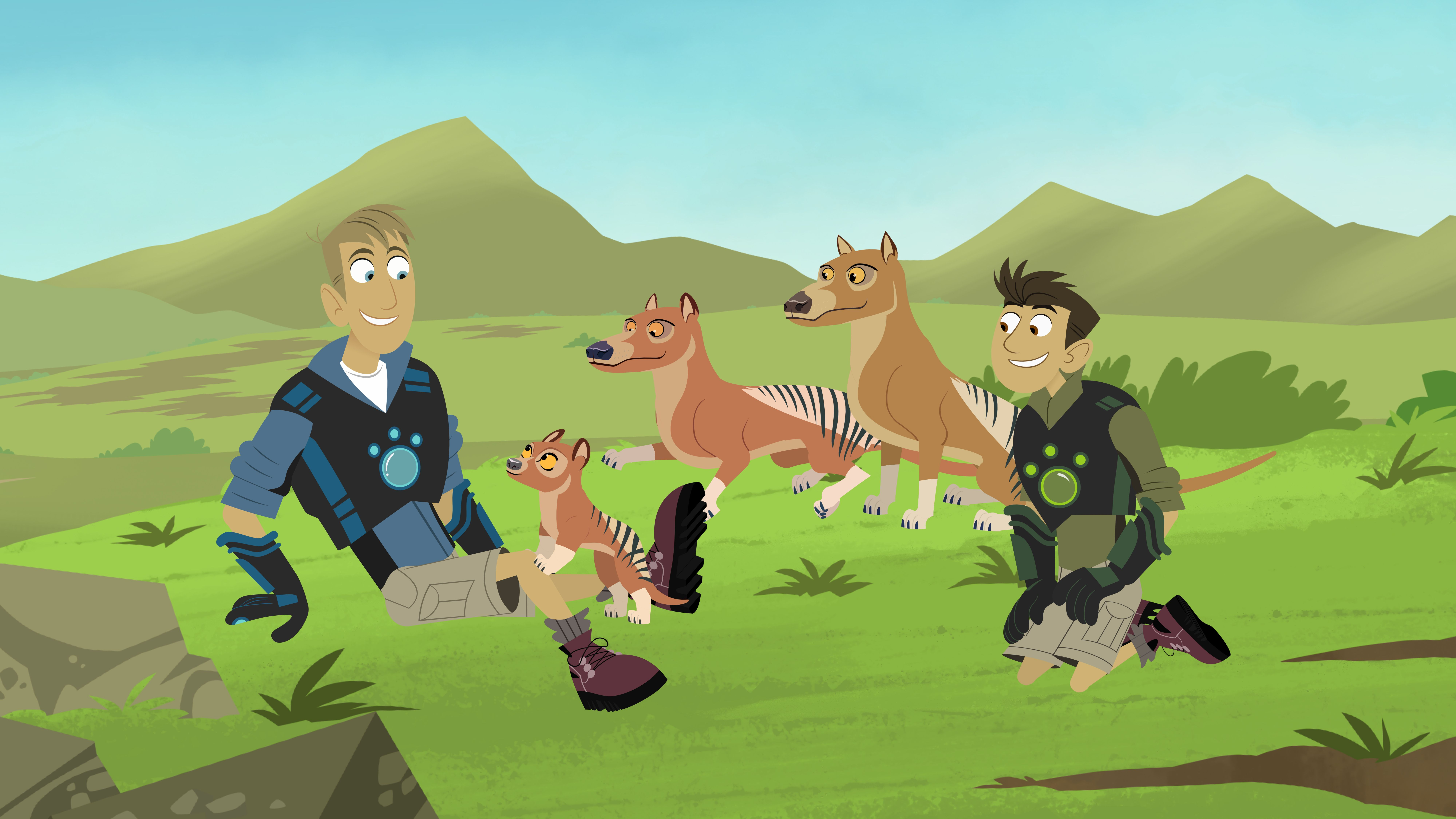 Kidscreen Archive Wild Kratts Adds More Creature Power To Wild Kratts Cute Animal Drawings Wild Pictures