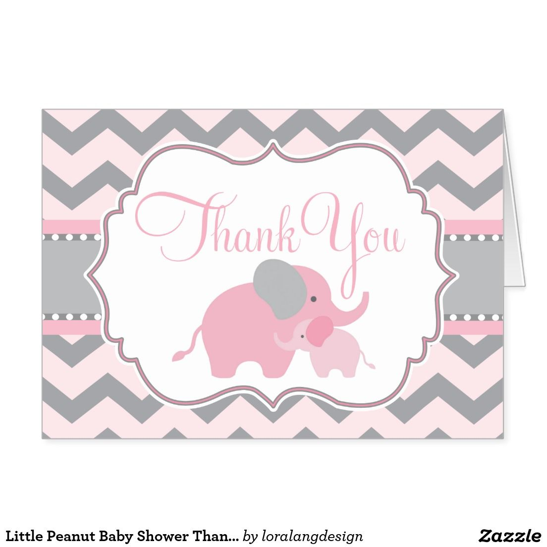 Little Peanut Baby Shower Thank You Notes  Shared Pins