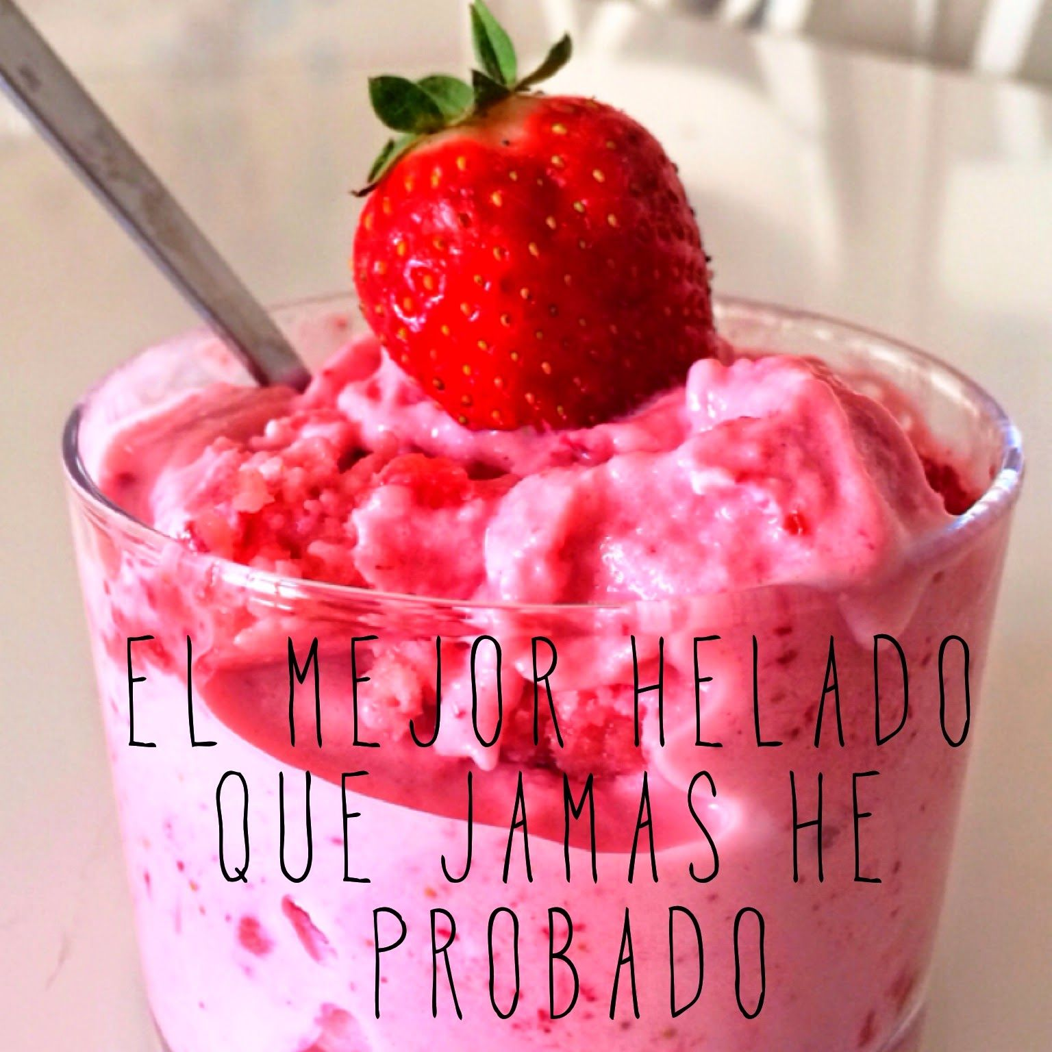 Receta cafe helado light