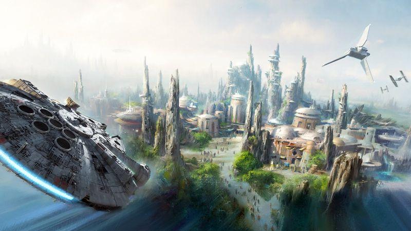 """迪士尼""""星球大战""""主题公园开工在即,预计 2019 年正式开放   理想生活实验室"""
