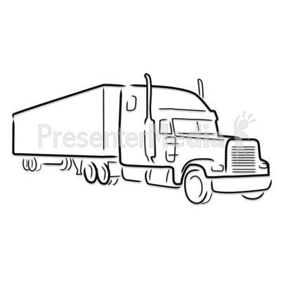 Semi Truck Clipart Item 1 Vector Magz Free Download Vector Semi Trucks Dump Truck Bedding Trucks