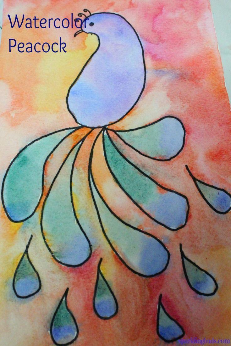 32 Easy Watercolor Painting Ideas Kids Watercolor Art Videos
