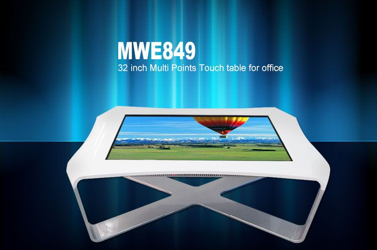 X Type Touch Screen Smart Table Shape Can Be Customized Compras