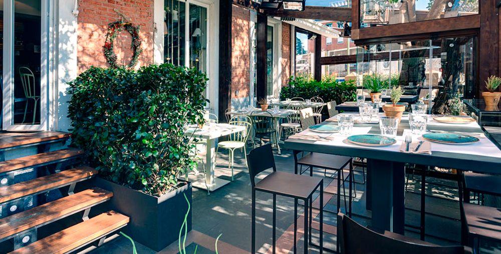 Terraza Café Del Río Terrazas Terrazas Madrid Y Ultimas