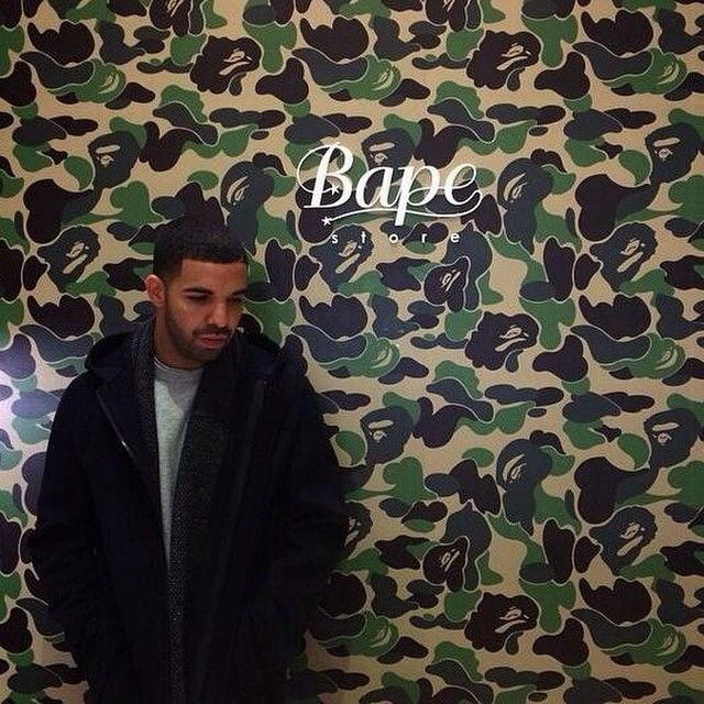 #NYC #Drake #Bape