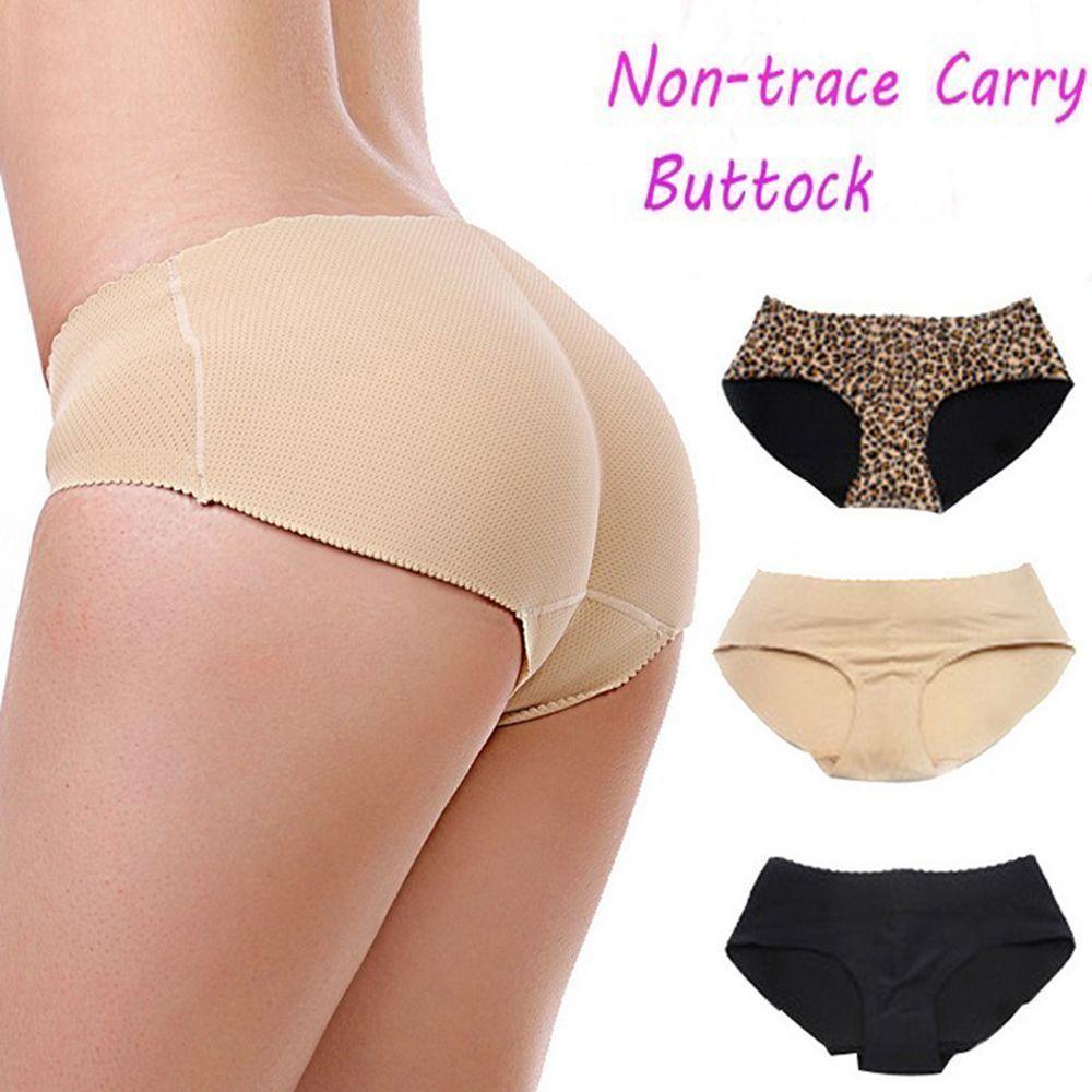 2c9abffe4b4 Fake Lace Pants Women Butt Underwear Enhancer Buttock Panties Shaper Bottom