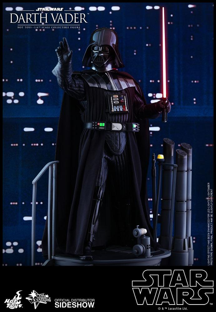 Darth Vader Sixth Scale Figure Episode V Hot Toys Empire Strike Darth Vader Hot Toys