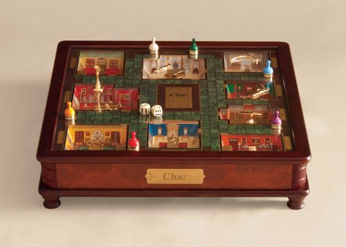 Luxury Wood collectors edition board games: Clue -- THESE ...