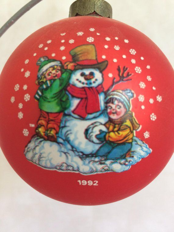 1992 Campbell's Soup Kids Christmas Ornament - 1992 Campbell's Soup Kids Christmas Ornament Products Pinterest