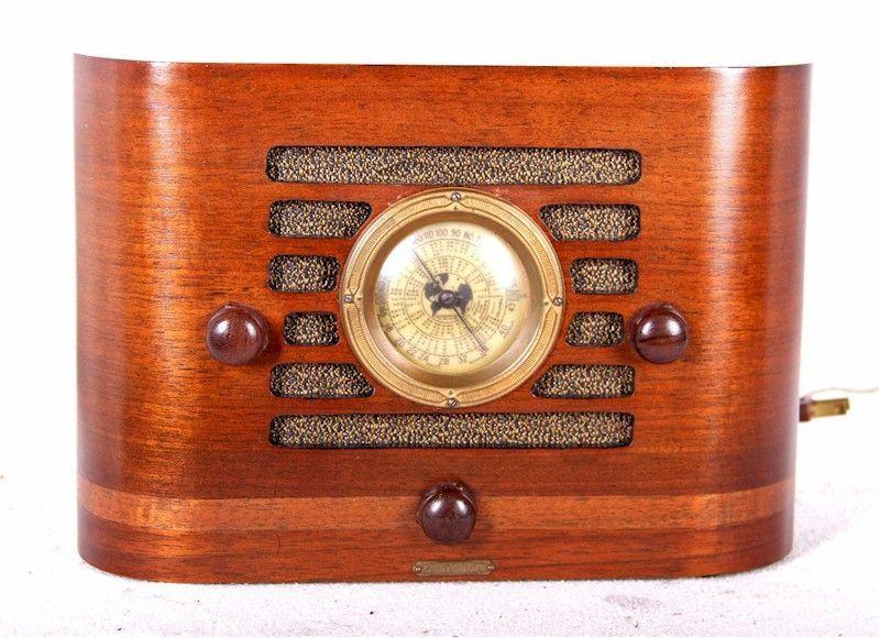 Detrola 101 1935 Retrooldtimeradio Vintage Radio Antique Radio Retro Radios
