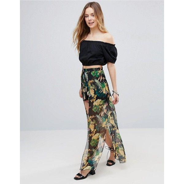 Floral Maxi Dress - Multi Parisian Tall ggJI74xd