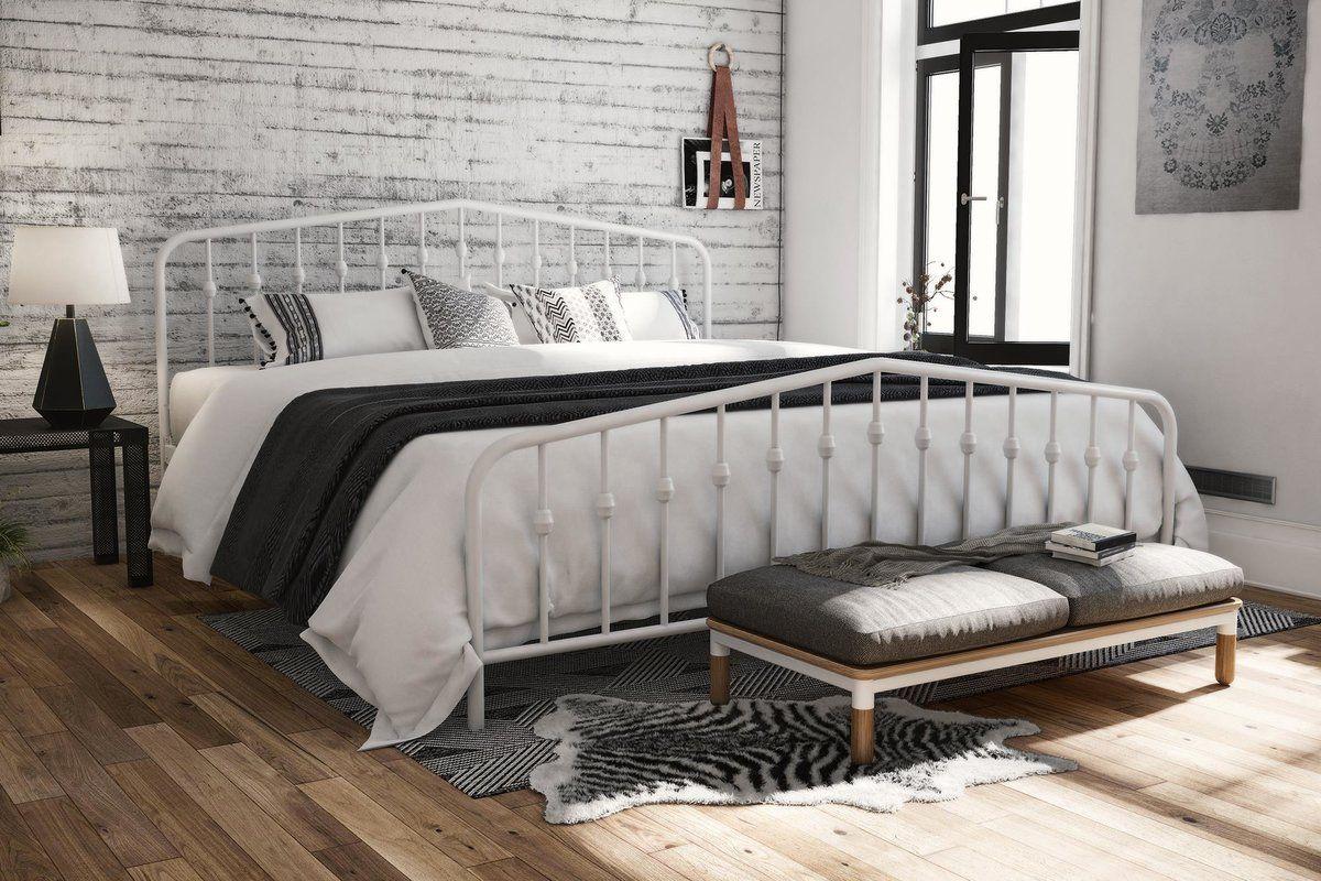 Bushwick Platform Bed King metal bed, Queen metal bed