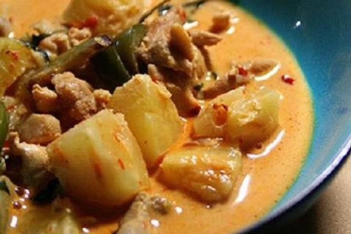 Creamy Curry Chicken