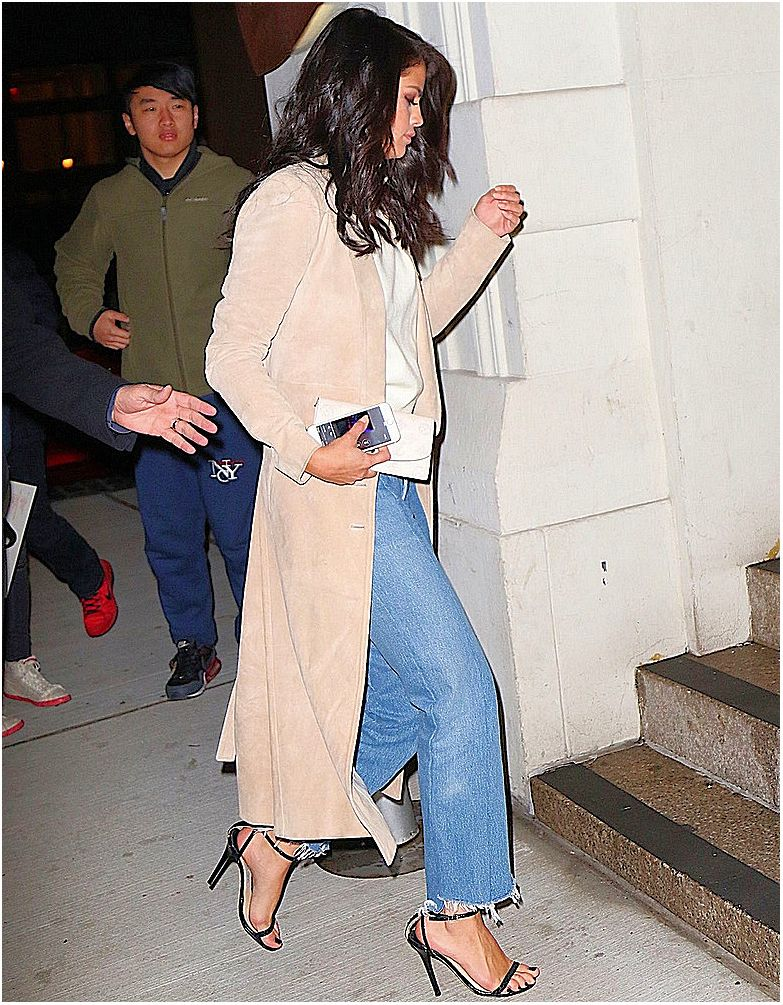 Selena Gomez Night Out Style – at Nobu restaurant in New York City 1/21/2016