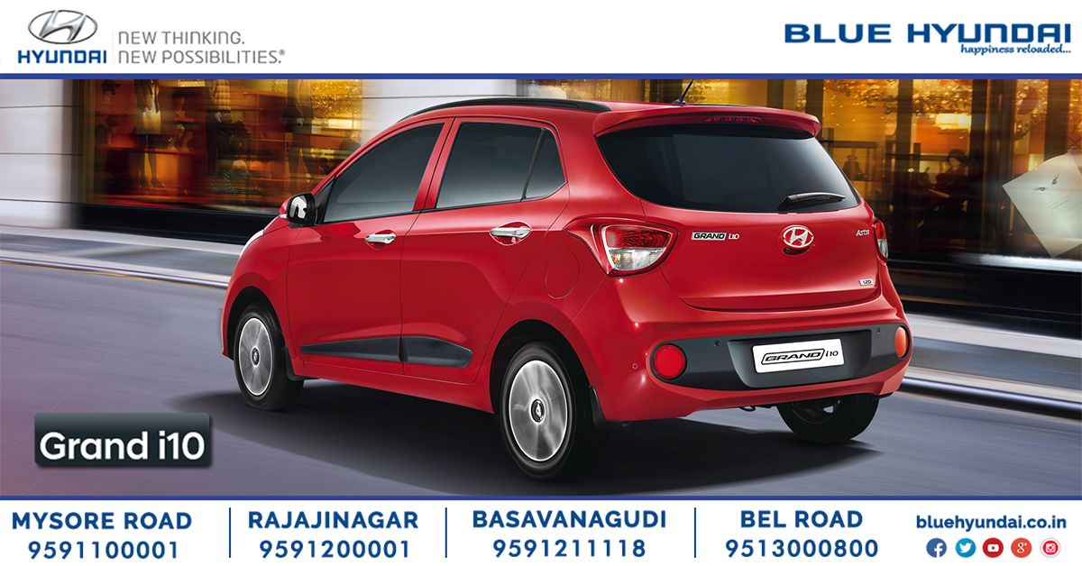 The Striking Modern Design Of The Grand I10 Is Emphasized By The