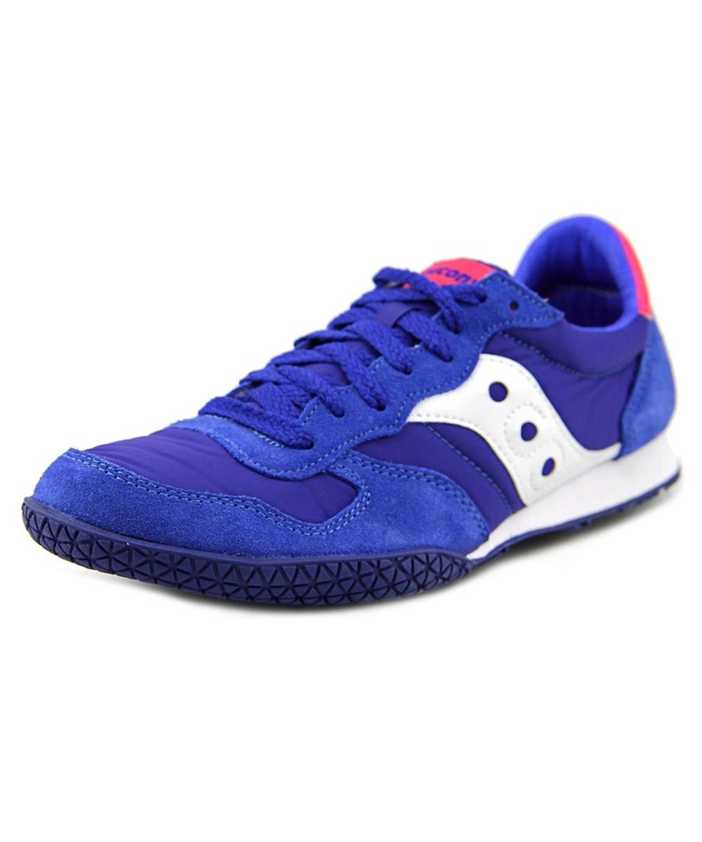 SAUCONY Saucony Bullet Women Round Toe Suede Blue Sneakers .  saucony  shoes   sneakers 2b45b45b0d