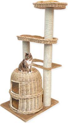 Der wunderschöne Kratzbaum WIEN bietet Ihrer Katze viele