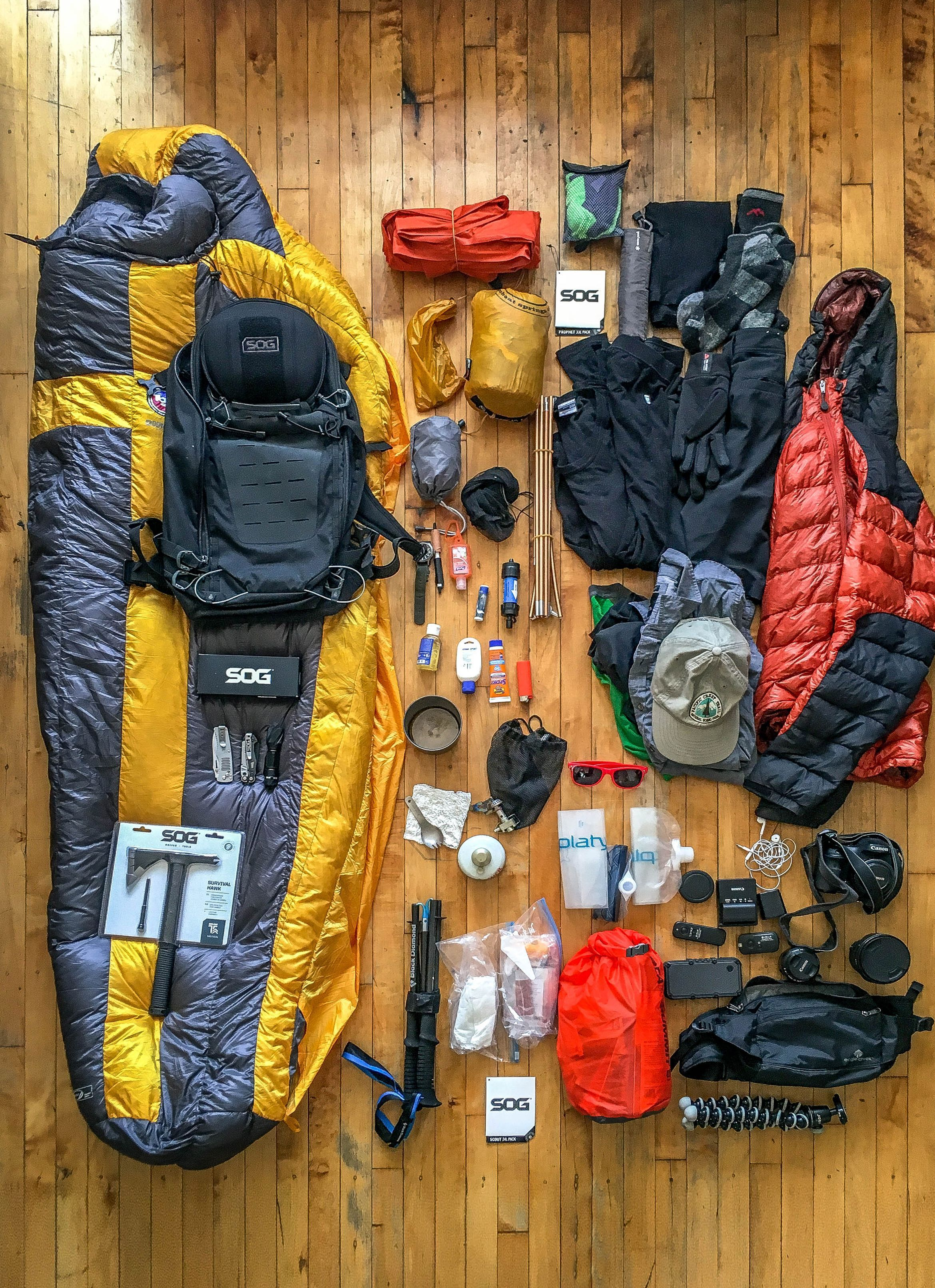 Scout 24 Backpacking Gear Bushcraft Camping Hiking Gear