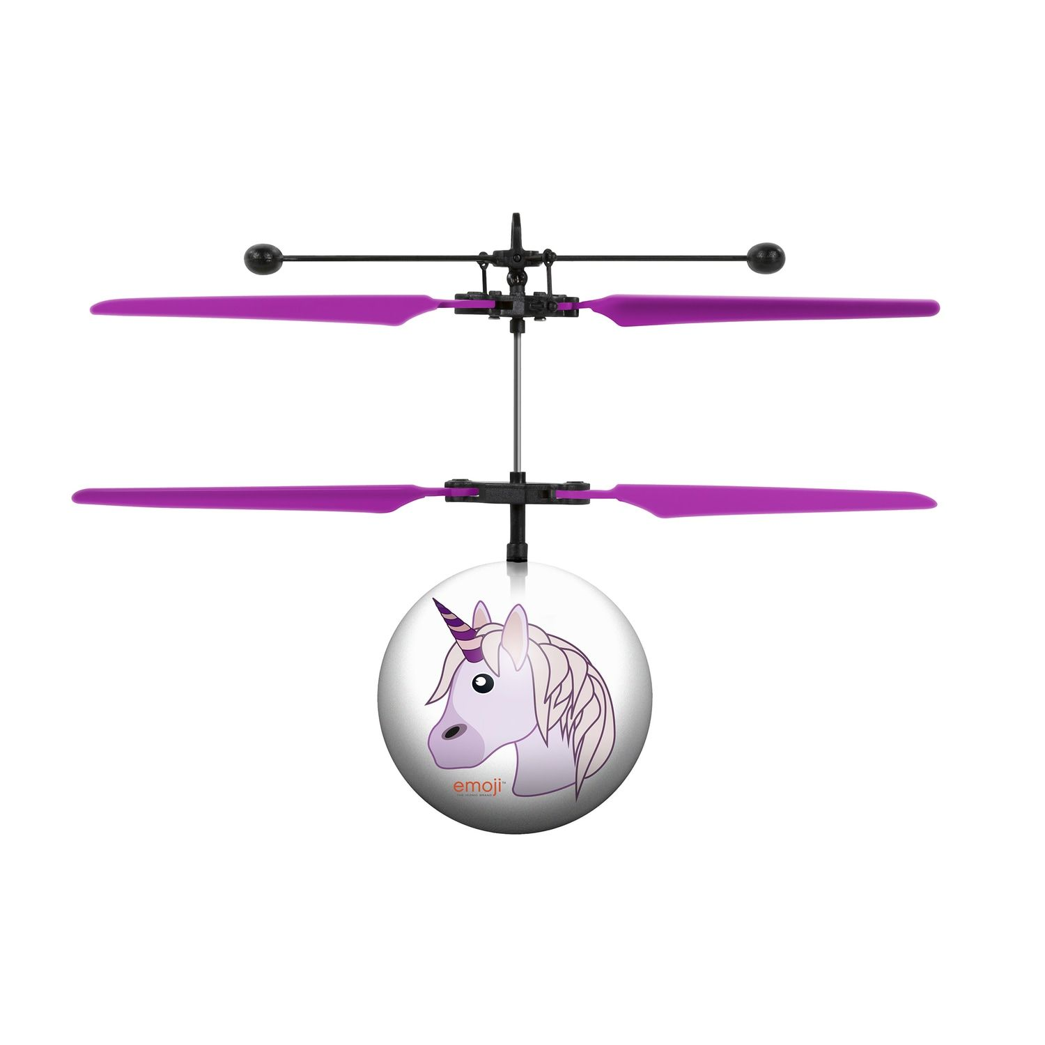 World Tech Toys Unicorn Emoji Heli-Ball #techtoys