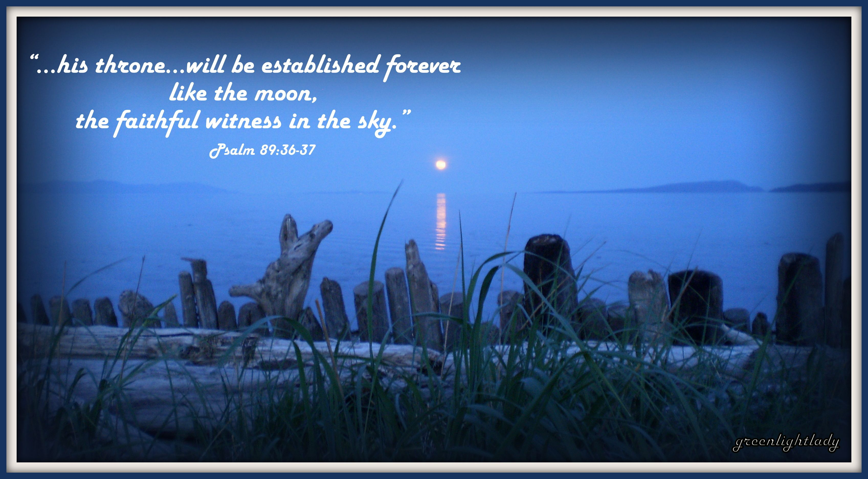 Image result for image of Psalm 72 moon faithful witness