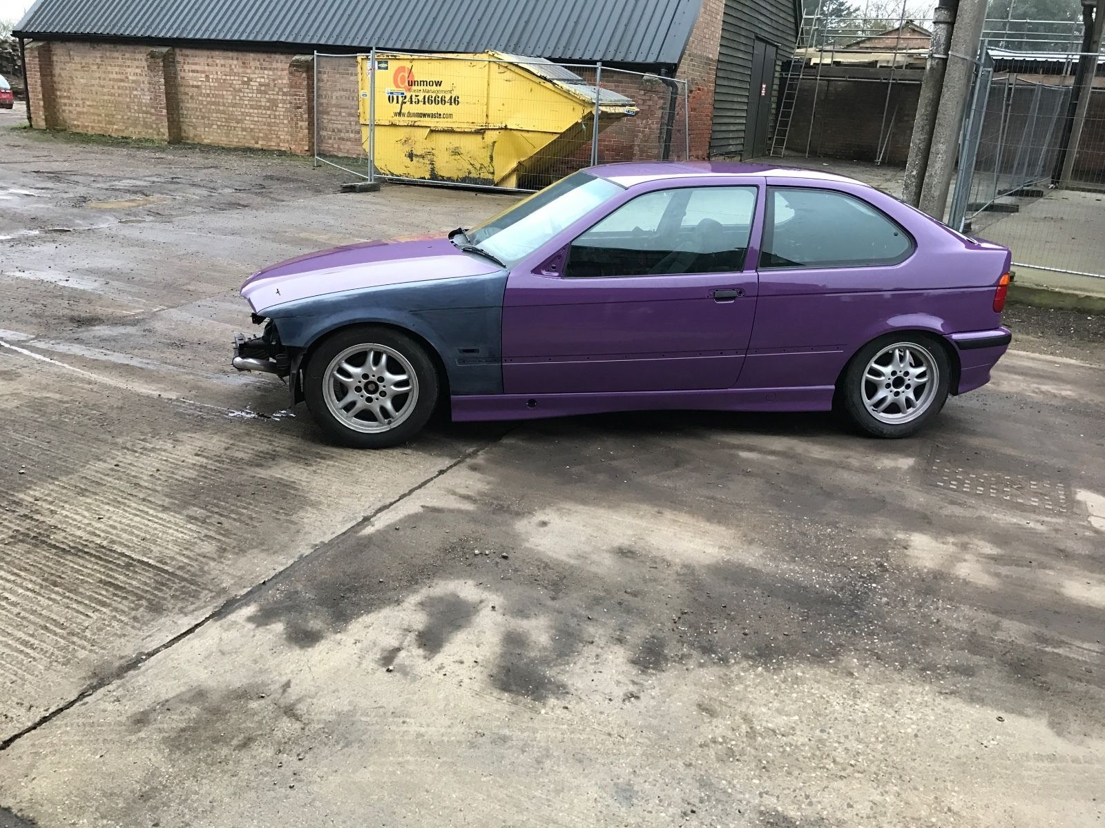 eBay: BMW 318 TDS unfinished drift car project spares or repair ...