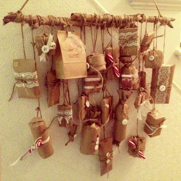 Homemade Advent Calendar Ideas For Boyfriend : Advent calendar for boyfriend overseas holiday