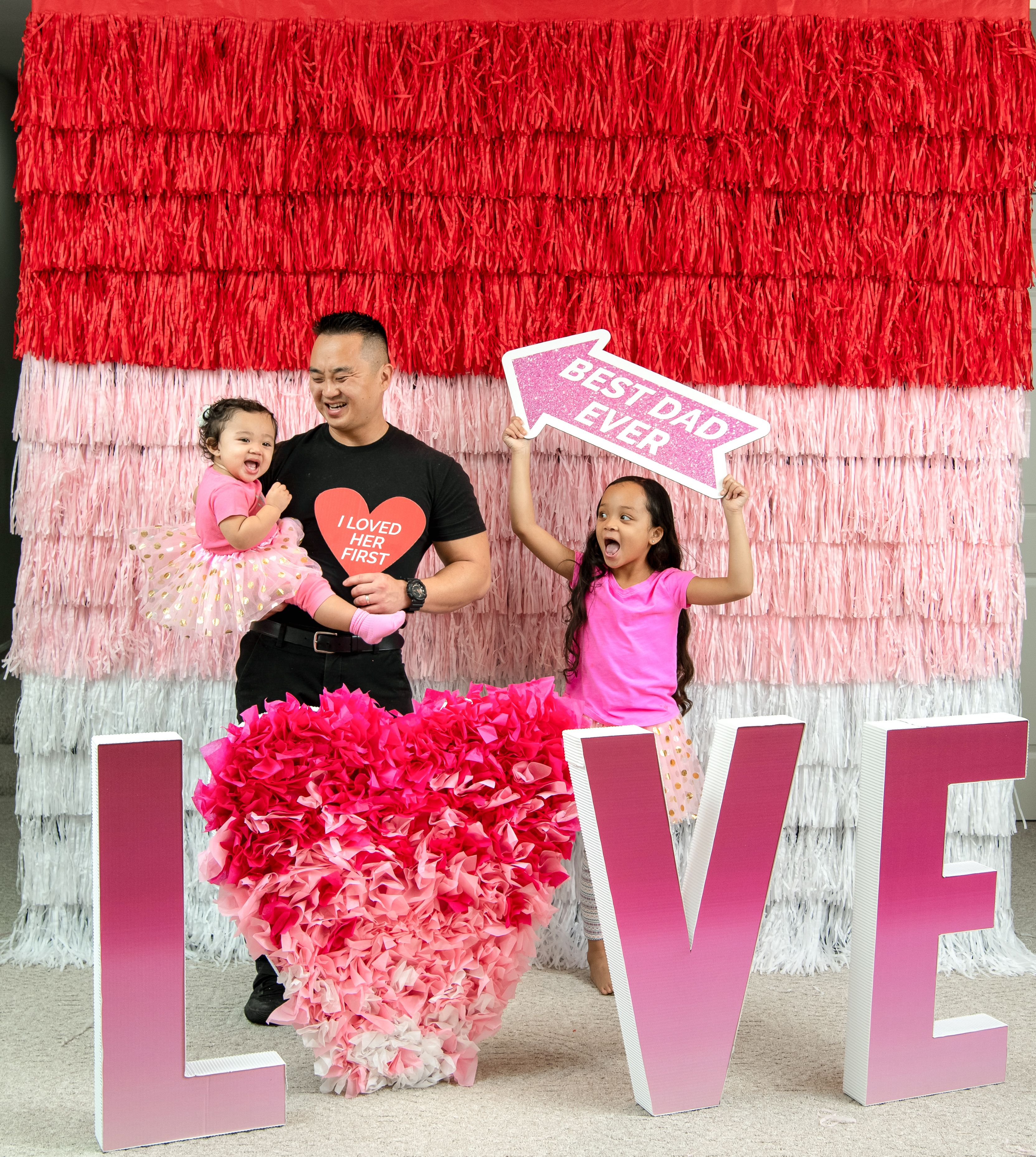 Valentine S Day Party Ideas 3d Love Letters Photo Booth Props Easy Diy Photo Wall Valentines Day Party Valentines Day Photos Birthday Party At Home