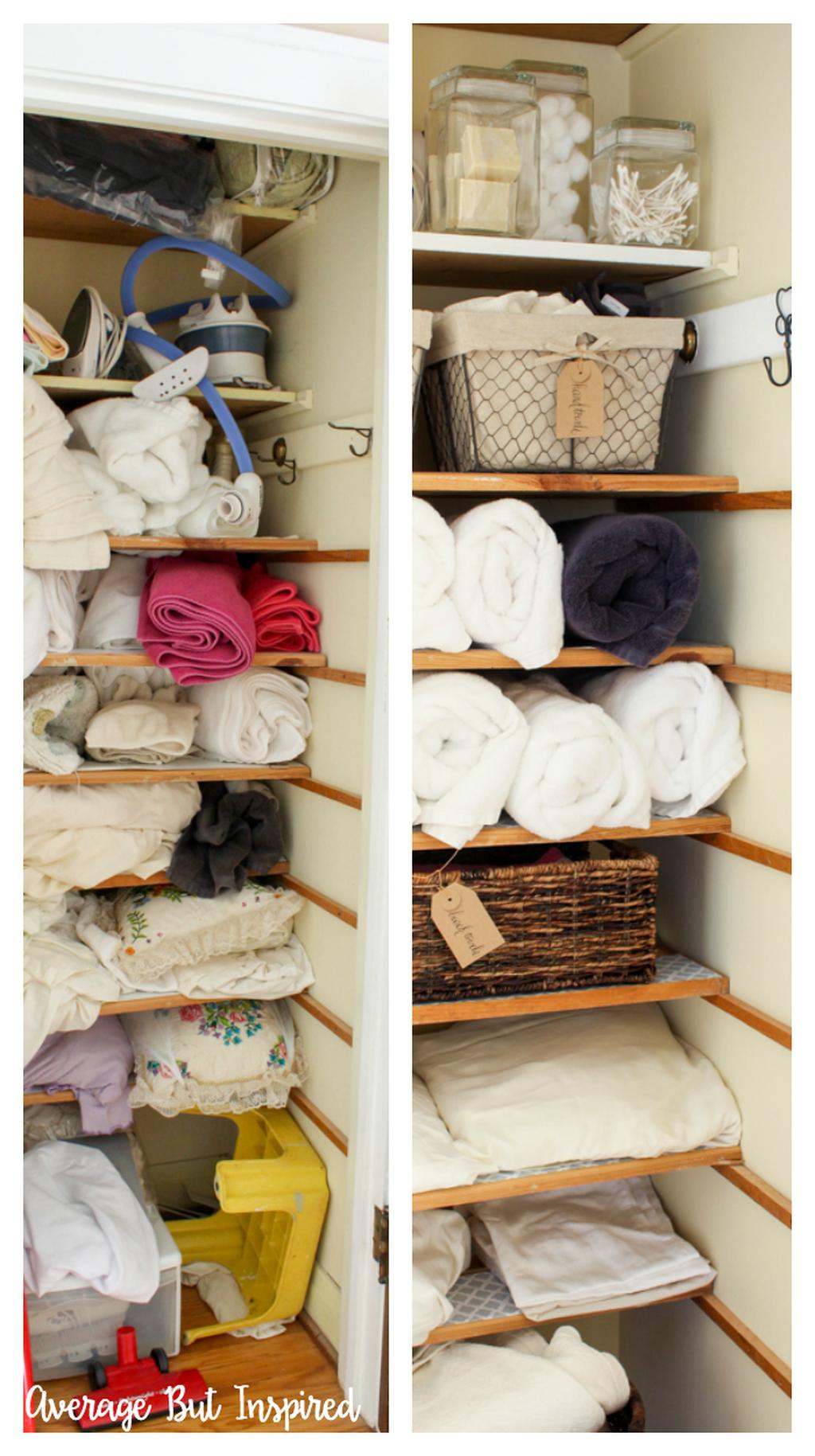 42 the best crafty closet organization ideas to apply asap - trenduhome in 2020 | linen closet