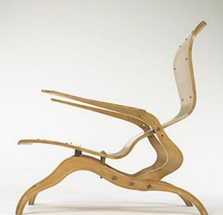 Franco Campo And Carlo Graffi Plywood Chair 1950 I 2020