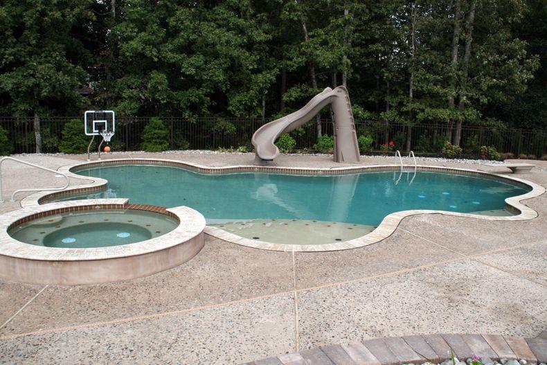 Custom Gunite Inground Swimming Pool Image Gallery Landi