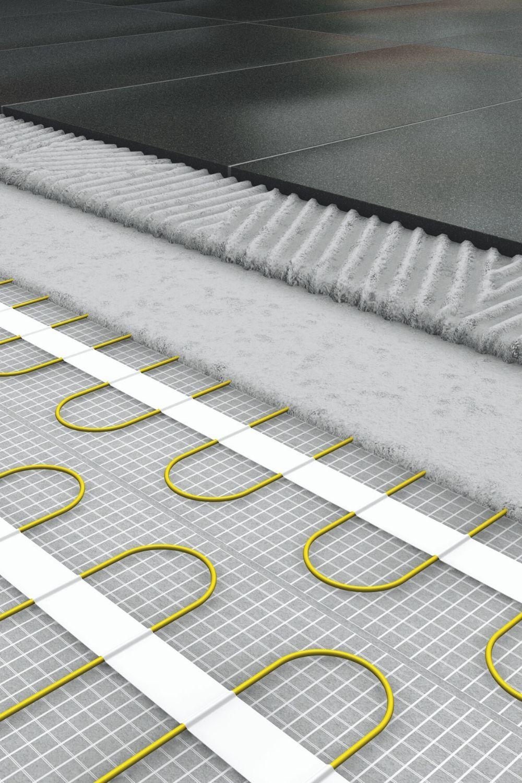 Blanke Elotop In 2020 Elektrische Fussbodenheizung Fussbodenheizung Fliesen Verlegen