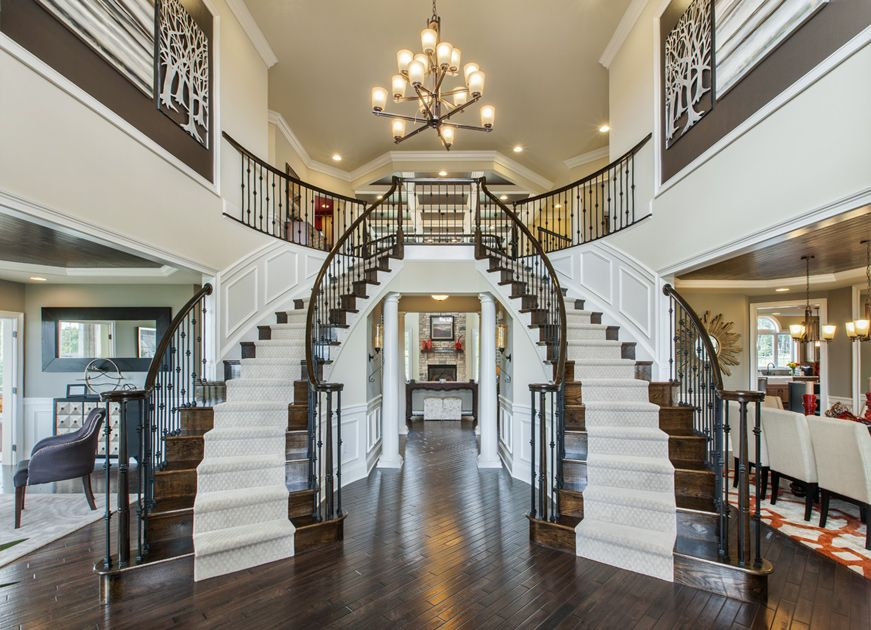 The Harding Is A Luxurious Toll Brothers Home Design Available At  Alexandria Estates