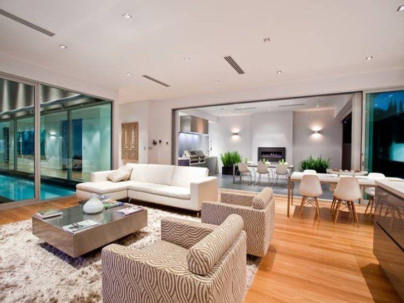 Beautiful Living Room Ideas & Photo Gallery. Aluminium WindowsOpen Plan ...