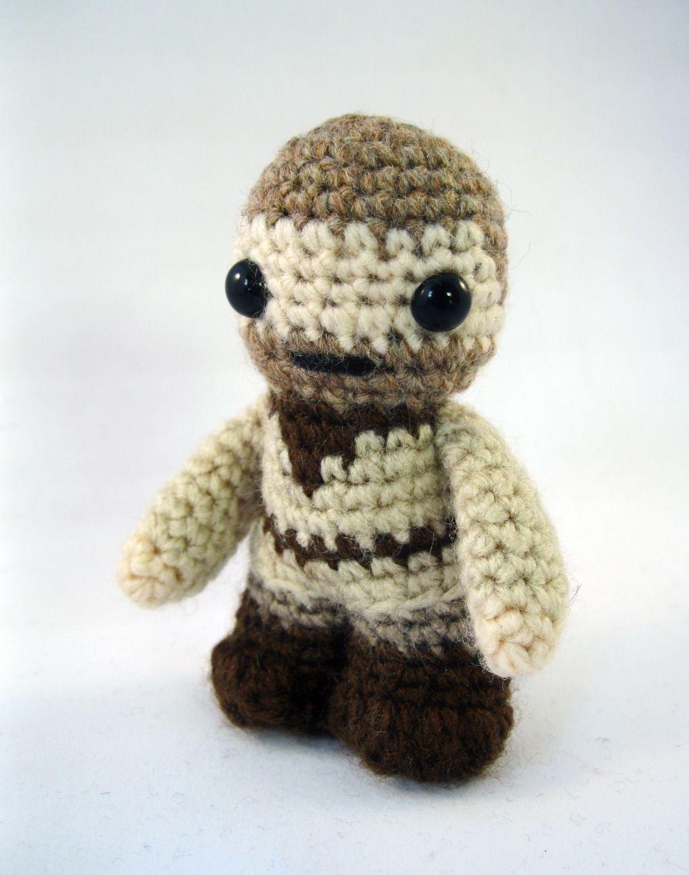 LucyRavenscar - Crochet Creatures: Obi-Wan Kenobi - Mini Amigurumi ...