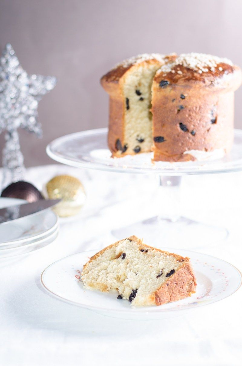 Panettone with dried cherries and blueberries   Recipe   My things ...