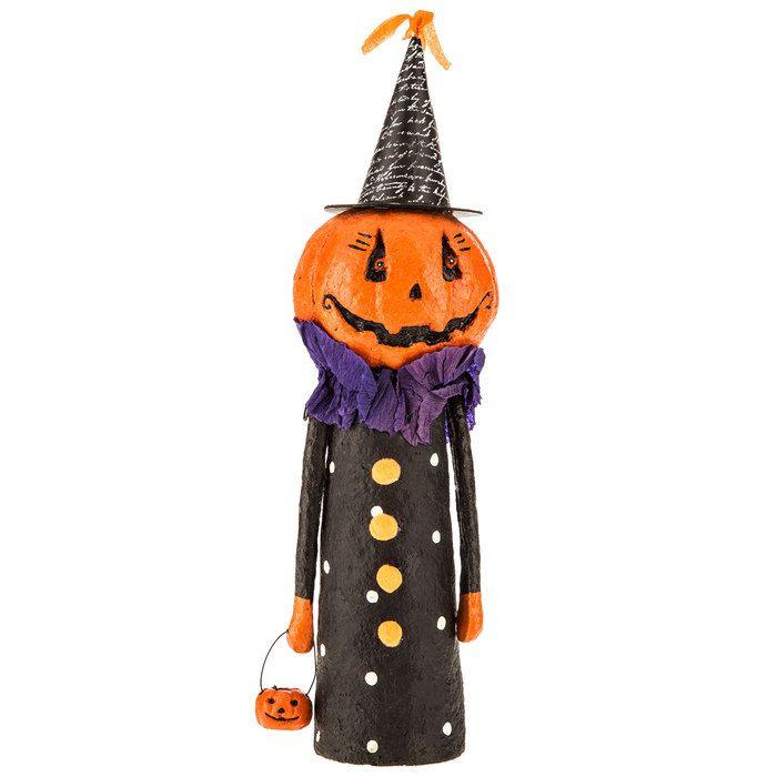 Jack-O-Lantern Figurine Crafty ideas Pinterest Decoration - hobby lobby halloween decor