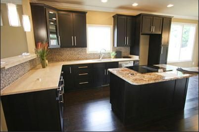 Best Espresso Cabinets Kitchen Design Kitchen Cabinet Colors 400 x 300
