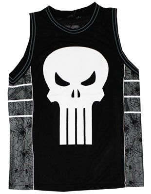 Marvel Comics Punisher Basketball Jersey  19ae74cf0