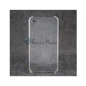 Clear Crystal Hard Back Cover Case for iPhone 4G (Transparent)