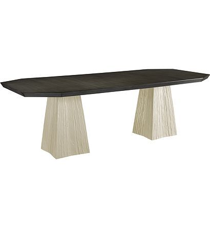 Astonishing Lark Dining Table Top 2 Pedestals From The Hable For Caraccident5 Cool Chair Designs And Ideas Caraccident5Info