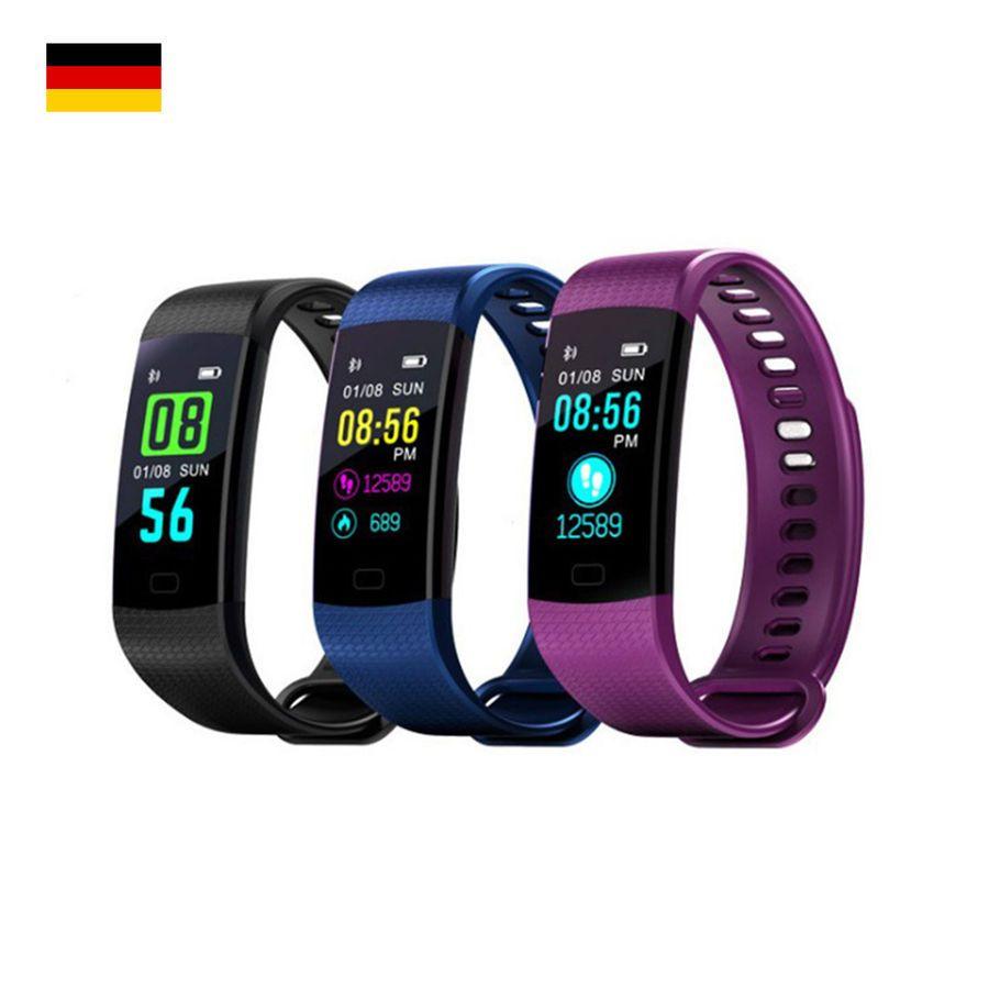 Smartarmband Mit Pulsmesser Armbanduhr Wasserdicht Ip67 Fitness Tracker Y5 Pulsmesser A Smart Band Fitness Tracker Fitness Tracker Bracelet Pressure Bracelet