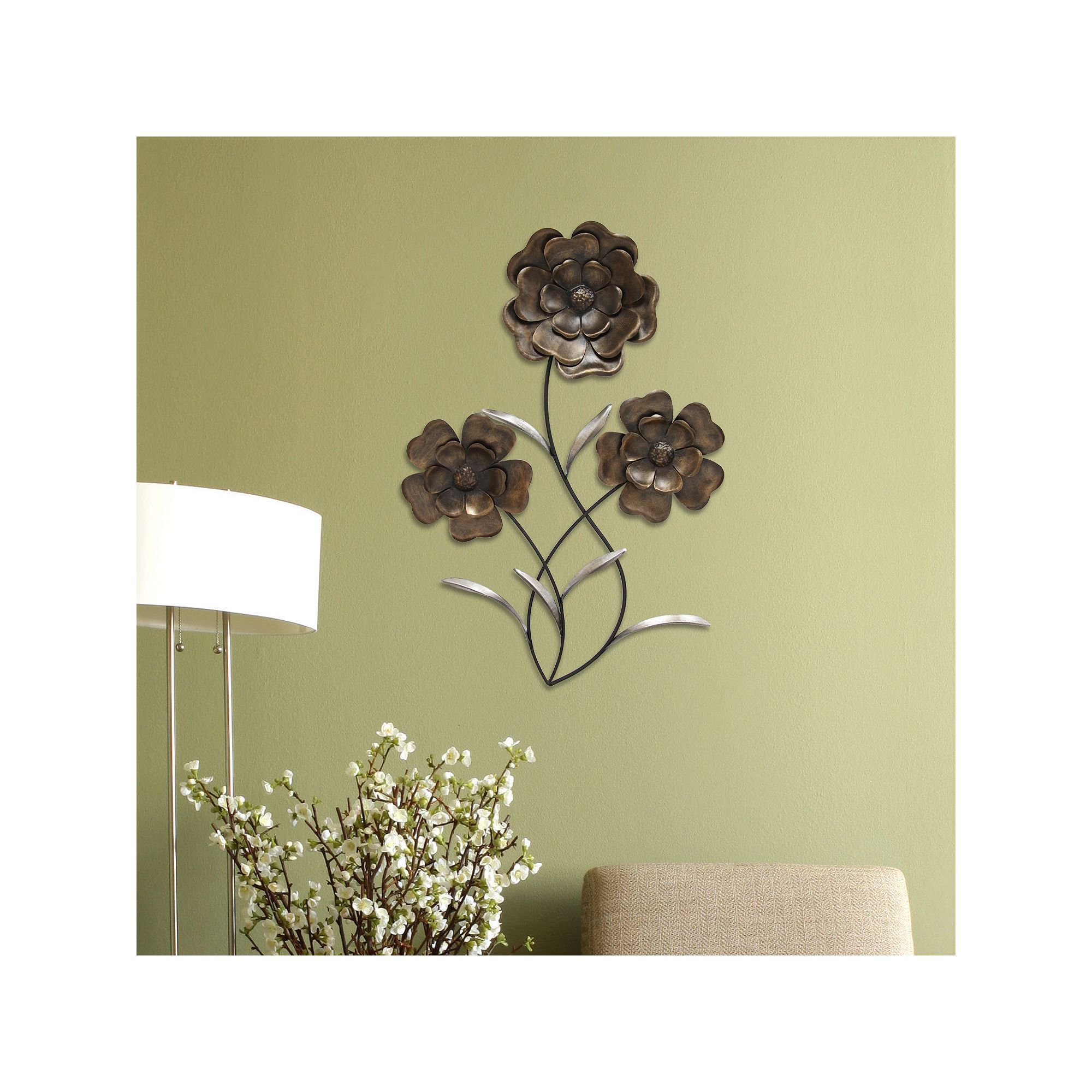 Nice Stratton Home Decor Multicolored Circles Metal Wall Decor ...