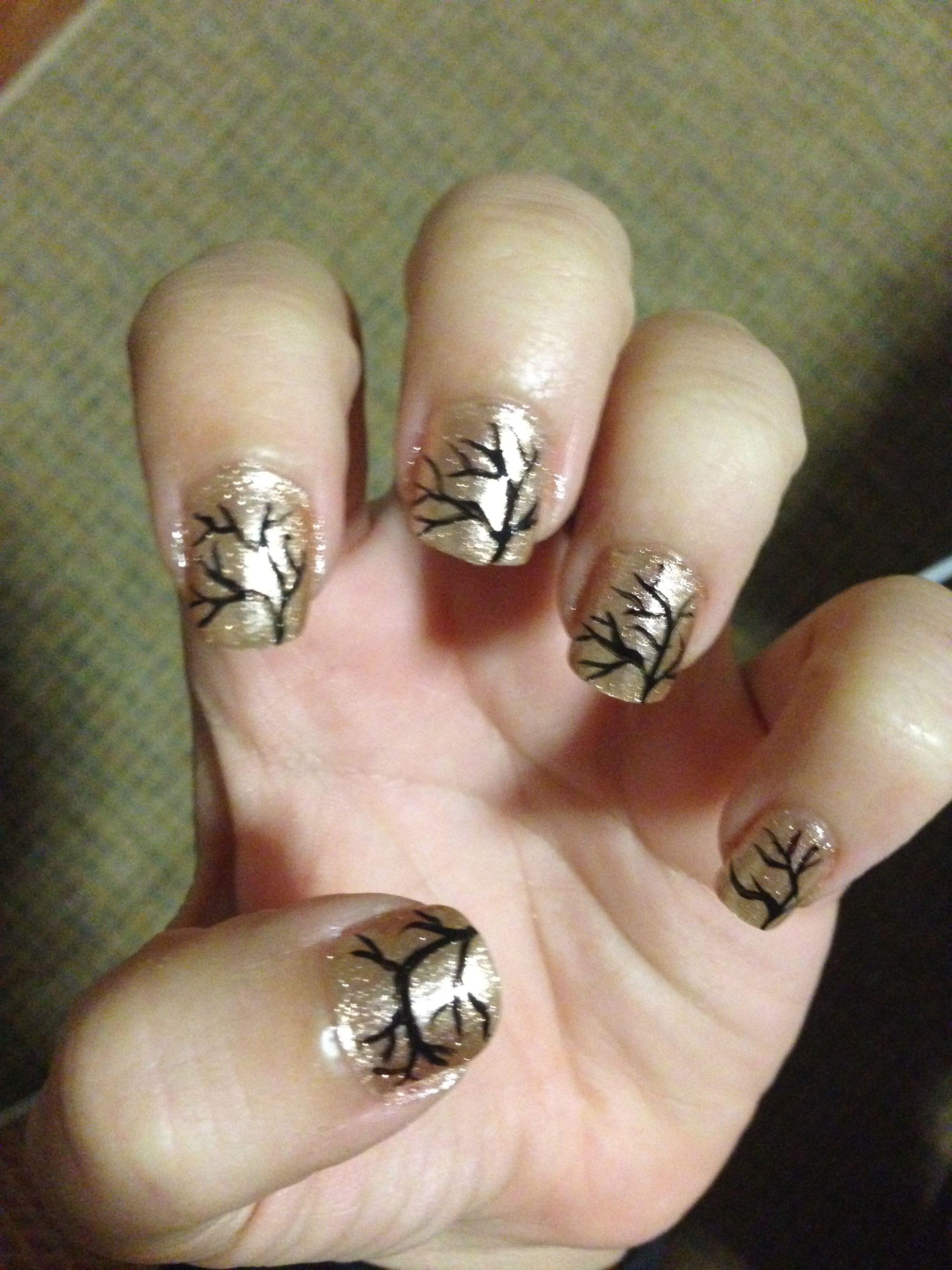 Fall nails! | Nail Designs! | Pinterest