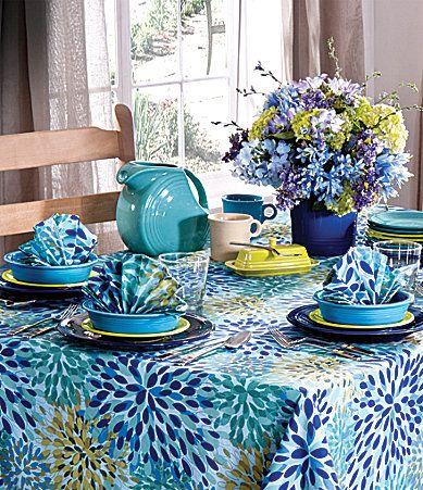Charmant Fiesta® Summer Brights Table Linens   Dillardu0027s