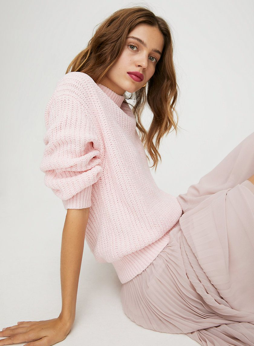 ESSENTIAL CHENILLE SWEATER | Chenille sweater, Clothes for